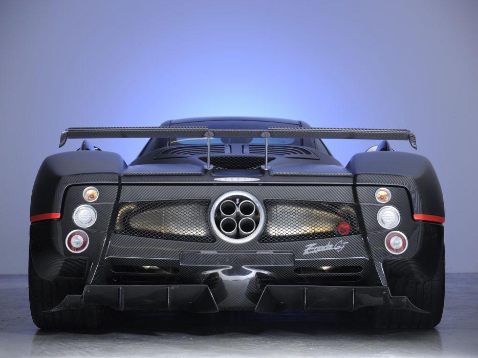 2009 Pagani Zonda G-J supercar supercars     ff wallpaper