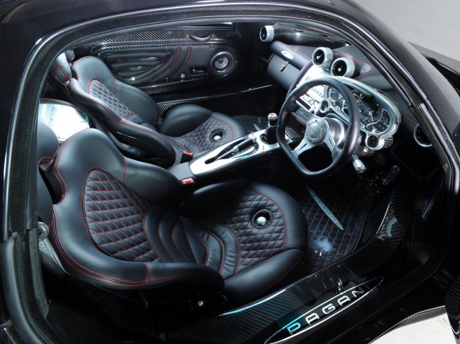 2009 Pagani Zonda G-J supercar supercars interior wallpaper ...