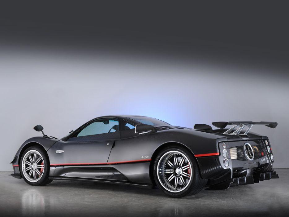 2009 Pagani Zonda G-J supercar supercars wallpaper