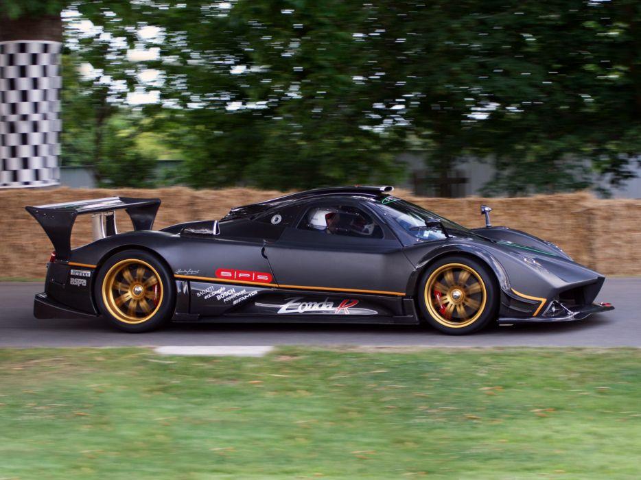 2009 Pagani Zonda R supercar supercars  f wallpaper