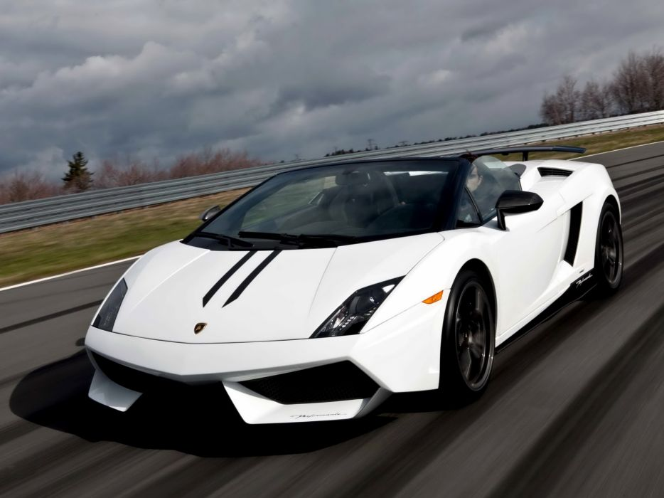 2010 Lamborghini Gallardo LP570-4 Spyder Performante supercar supercars   d wallpaper