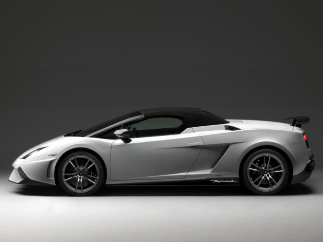 2010 Lamborghini Gallardo LP570-4 Spyder Performante supercar supercars g wallpaper