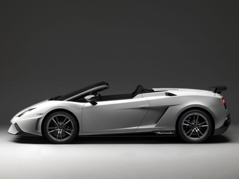 2010 Lamborghini Gallardo LP570-4 Spyder Performante supercar supercars r wallpaper