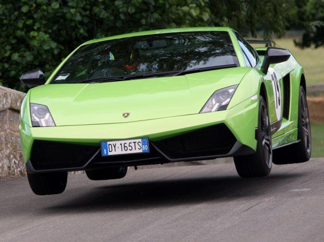 2010 Lamborghini Gallardo LP570-4 Superleggera supercar supercars f wallpaper