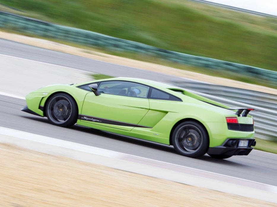 2010 Lamborghini Gallardo LP570-4 Superleggera supercar supercars wallpaper