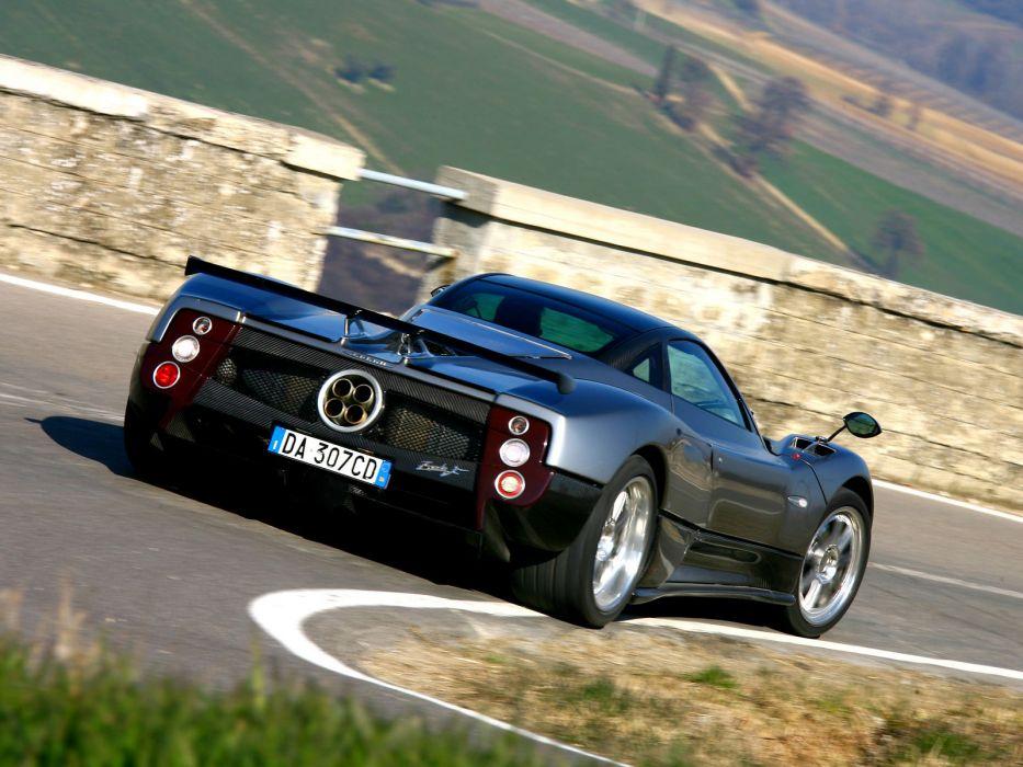 2010 Pagani Zonda F Clubsport supercar supercars   d wallpaper