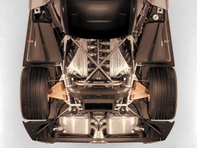 2010 Pagani Zonda F supercar supercars engine engines wallpaper