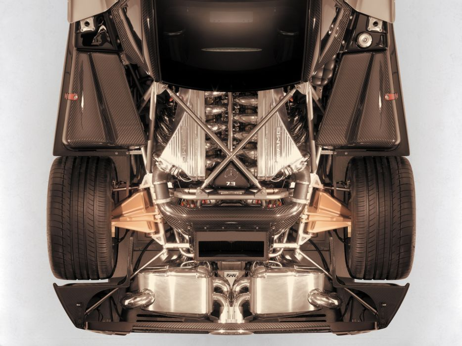 2010 Pagani Zonda F supercar supercars engine engines wallpaper