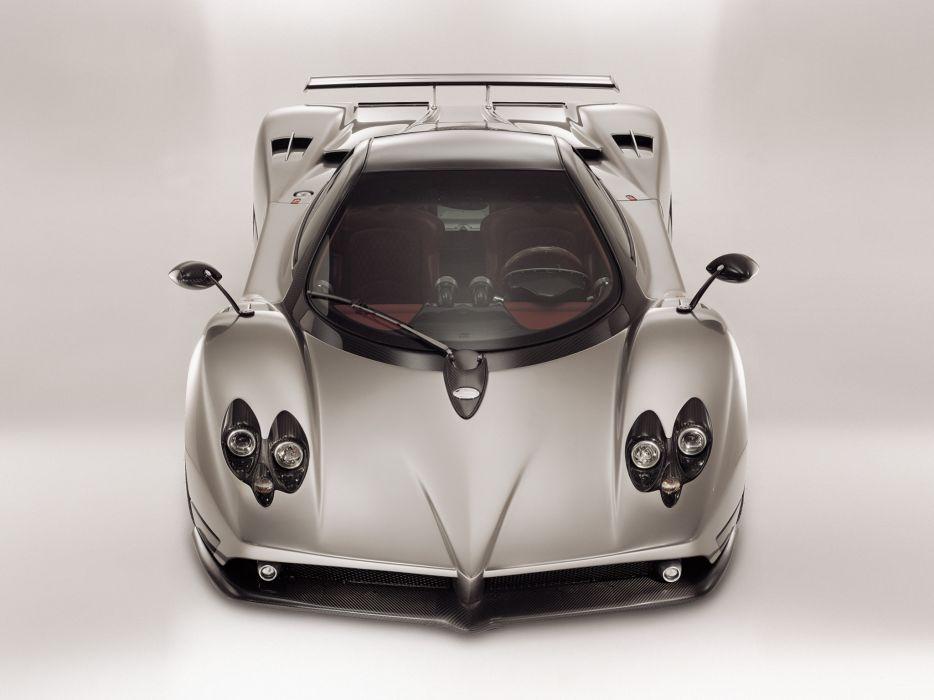 2010 Pagani Zonda F supercar supercars interior wallpaper