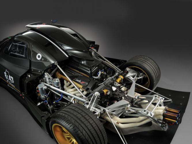 2010 Pagani Zonda R supercar supercars engine engines wallpaper