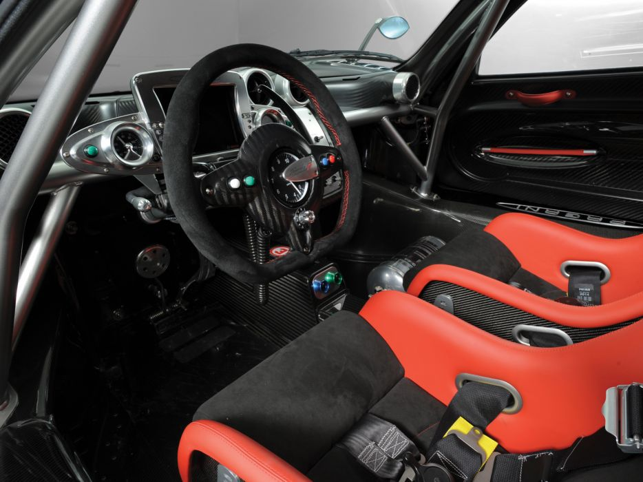 2010 Pagani Zonda R supercar supercars interior  f wallpaper