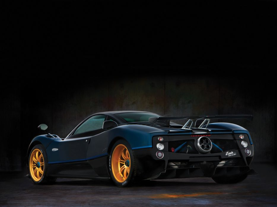 2010 Pagani Zonda Tricolore supercar supercars     f wallpaper