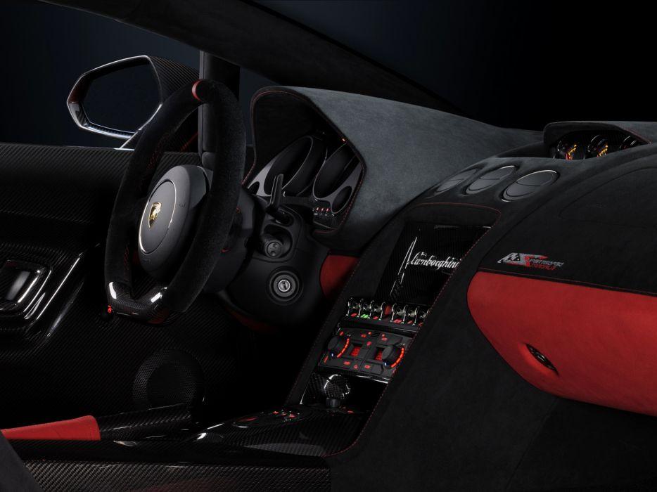 2011 Lamborghini Gallardo LP 570-4 Super Trofeo Stradale supercar supercars interior  d wallpaper
