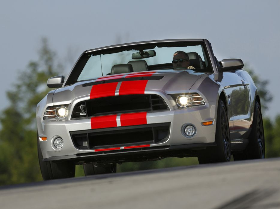 2012 Shelby GT500 SVT convertible ford mustang muscle       d wallpaper