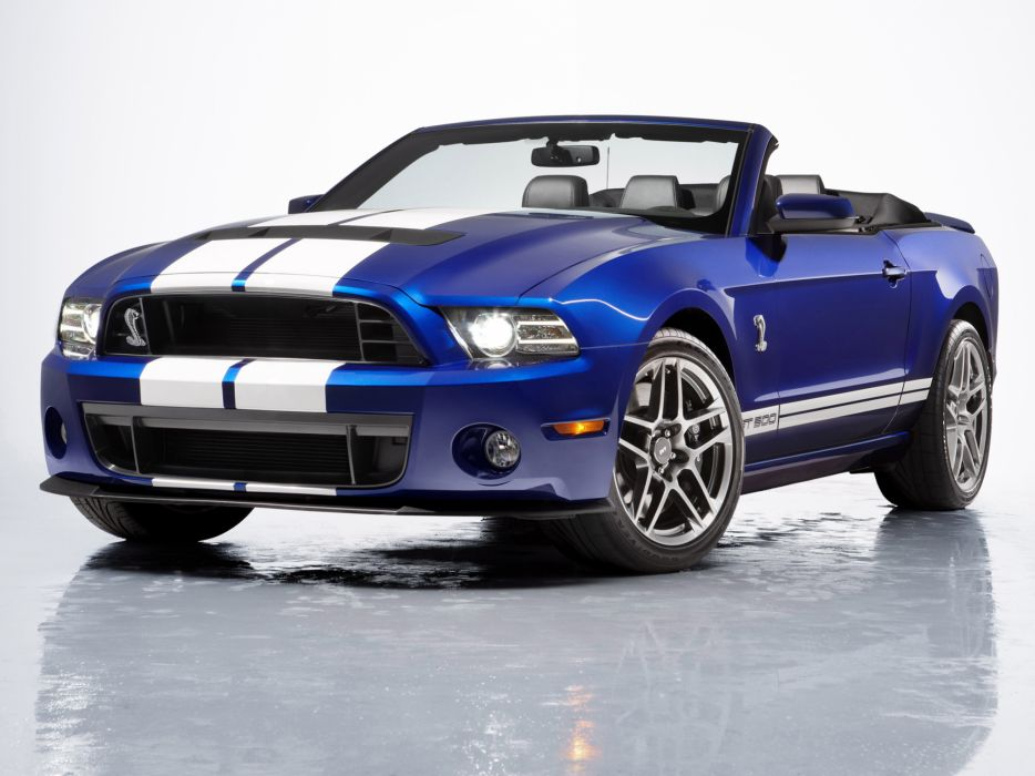 2012 Shelby GT500 SVT convertible ford mustang muscle  f wallpaper