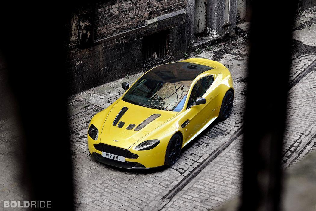 2014 Aston Martin V12 Vantage-S vantage supercar supercars   fd wallpaper