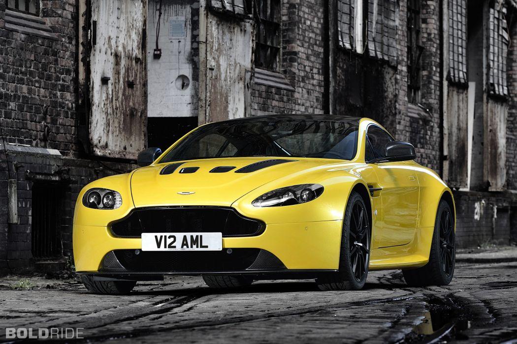 2014 Aston Martin V12 Vantage-S vantage supercar supercars wallpaper