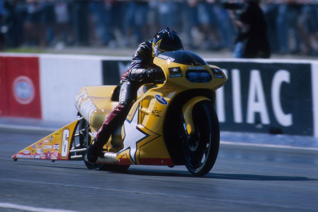 Antron Brown 2004 NHRA Pro Stock Bike pro-stock-bike motorcycle motorbike drag race racing wallpaper