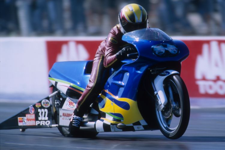 Brian Delong 2004 NHRA Pro Stock Bike pro-stock-bike motorcycle motorbike drag race racing wallpaper