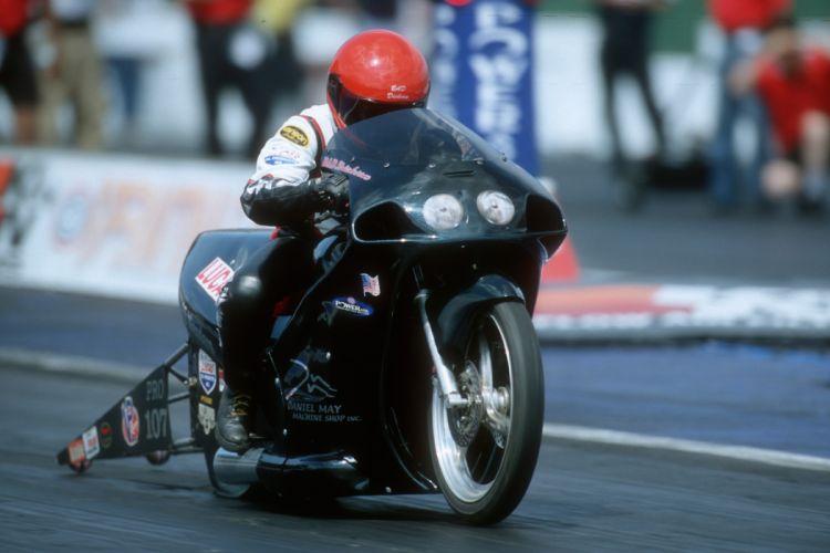 Bruce Dickson 2004 NHRA Pro Stock Bike pro-stock-bike motorcycle motorbike drag race racing wallpaper