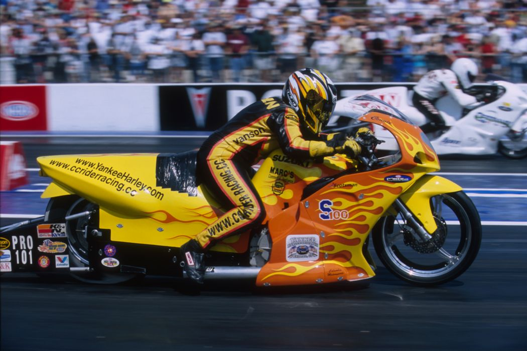 Connie Cohen 2004 NHRA Pro Stock Bike pro-stock-bike motorcycle motorbike drag race racing wallpaper
