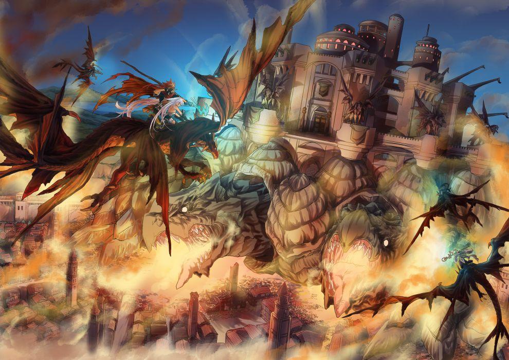 dragon original staff wallpaper