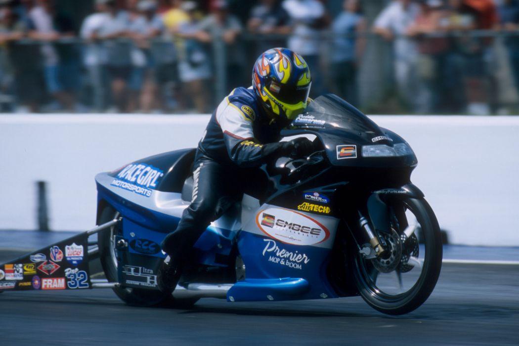 Fred Camarena 2004 NHRA Pro Stock Bike pro-stock-bike motorcycle motorbike drag race racing wallpaper