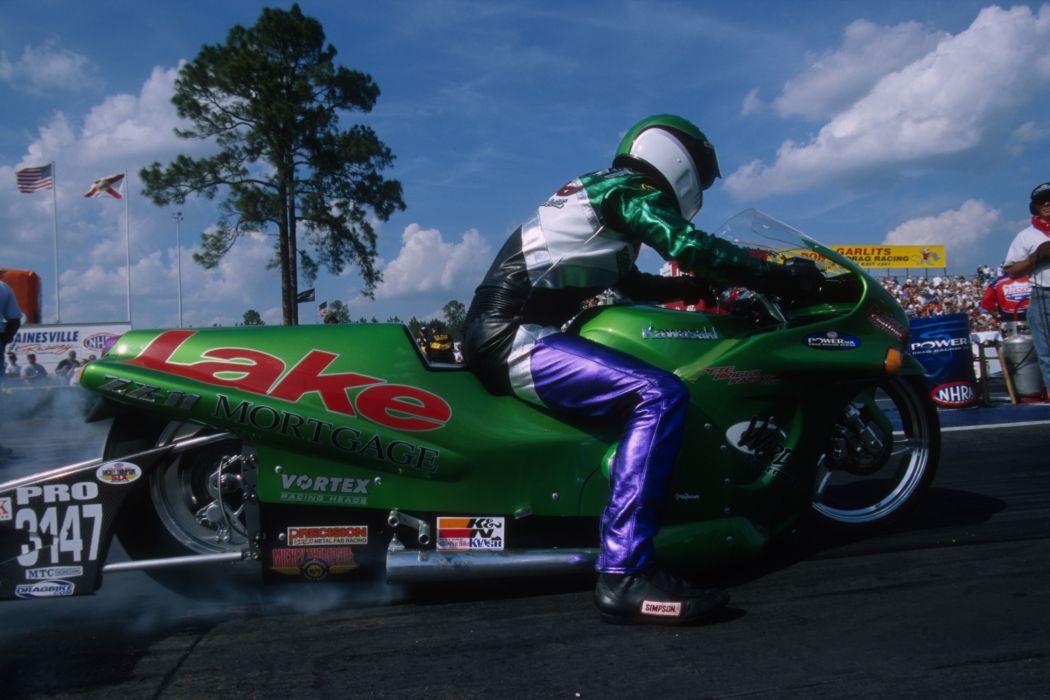 Josh Helvie 2004 NHRA Pro Stock Bike pro-stock-bike motorcycle motorbike drag race racing wallpaper