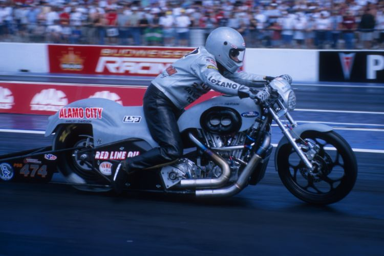 Michael Lozano 2004 NHRA Pro Stock Bike pro-stock-bike motorcycle motorbike drag race racing wallpaper