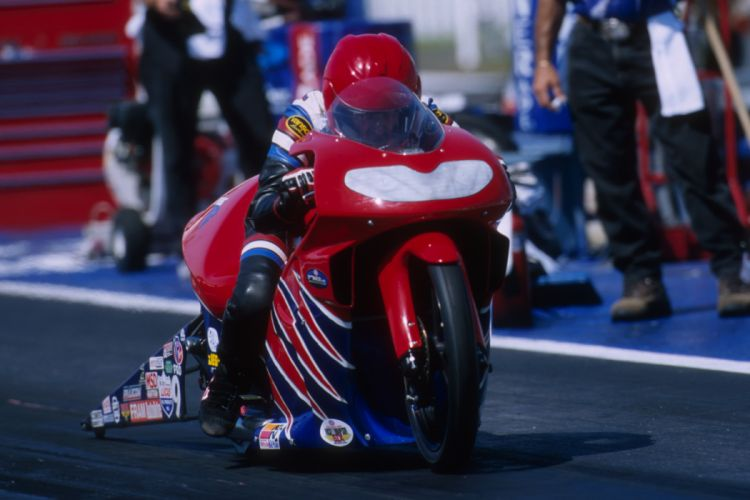 Mike Berry 2004 NHRA Pro Stock Bike pro-stock-bike motorcycle motorbike drag race racing wallpaper