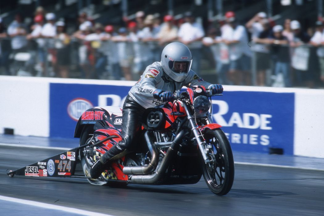 Mike Lozano 2004 NHRA Pro Stock Bike pro-stock-bike motorcycle motorbike drag race racing wallpaper