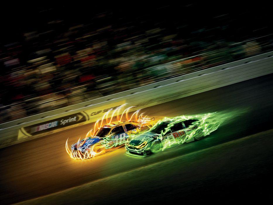 nascar race racing    z wallpaper