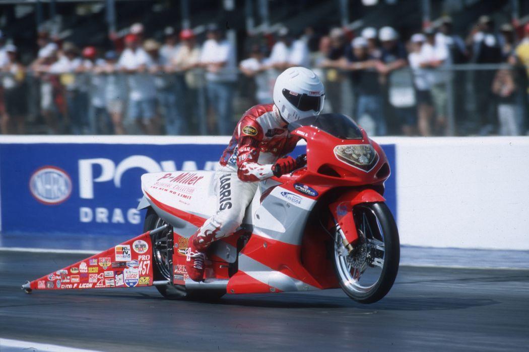 Redell Harris 2004 NHRA Pro Stock Bike pro-stock-bike motorcycle motorbike drag race racing wallpaper