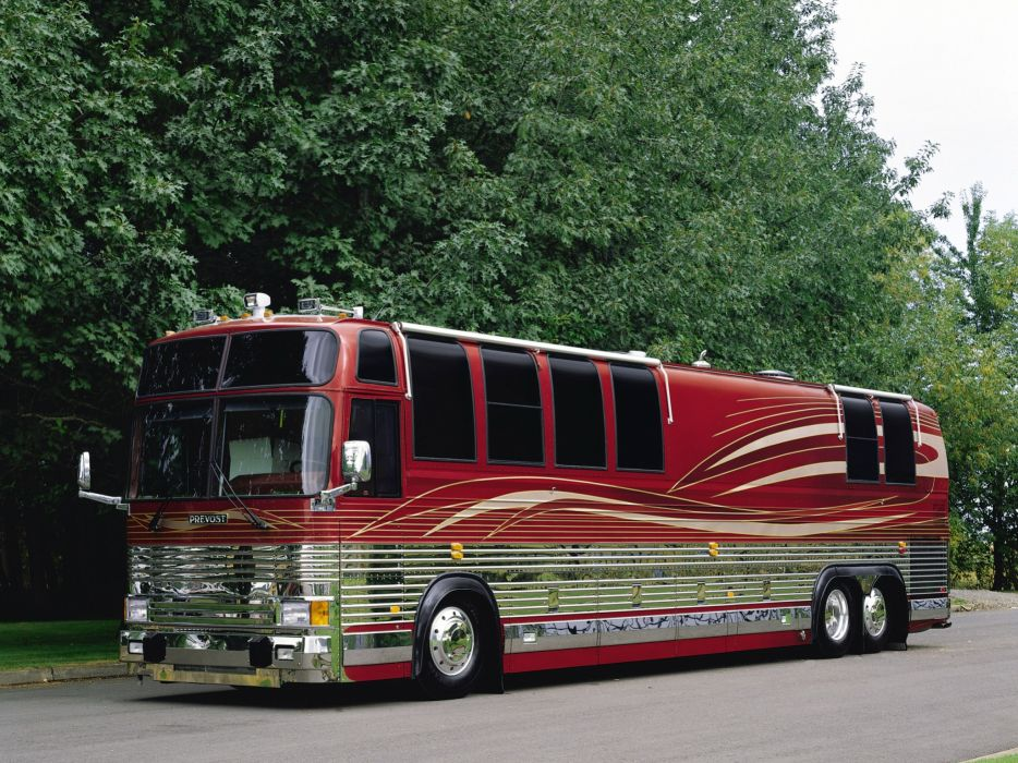 Prevost XL-40 campers motorhome mobilehouse bus buses wallpaper