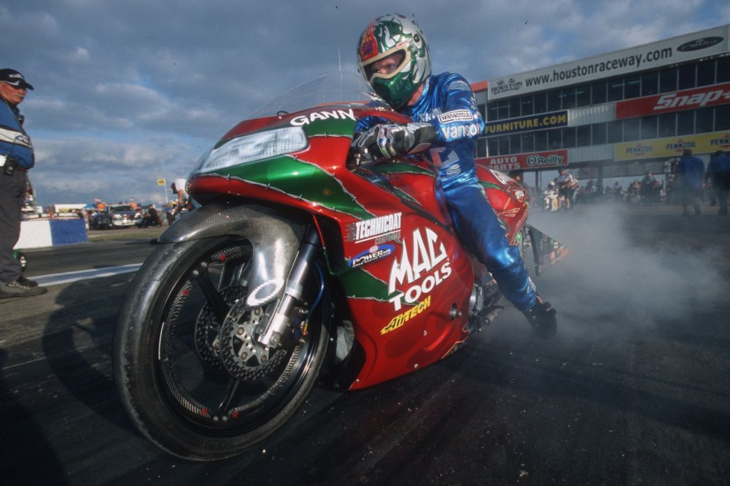 Shawn Gann 2004 NHRA Pro Stock Bike pro-stock-bike motorcycle motorbike drag race racing wallpaper