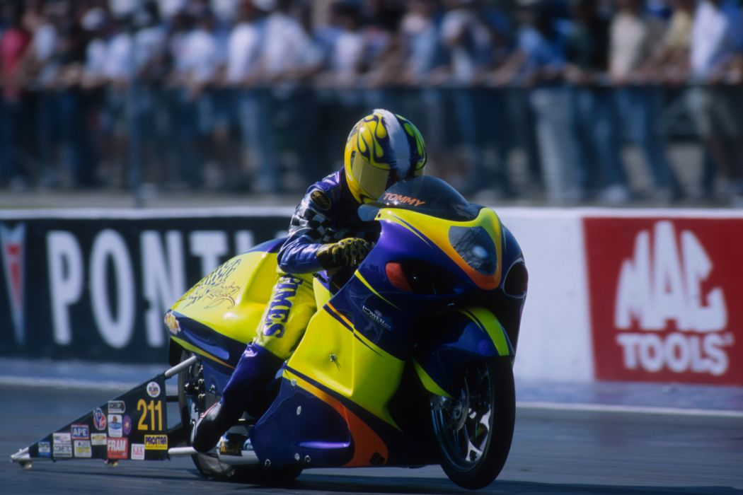 Tommy Grimes 2004 NHRA Pro Stock Bike pro-stock-bike motorcycle motorbike drag race racing wallpaper