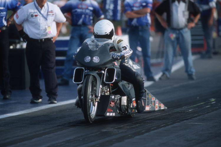 Tom Bradford 2004 NHRA Pro Stock Bike pro-stock-bike motorcycle motorbike drag race racing wallpaper