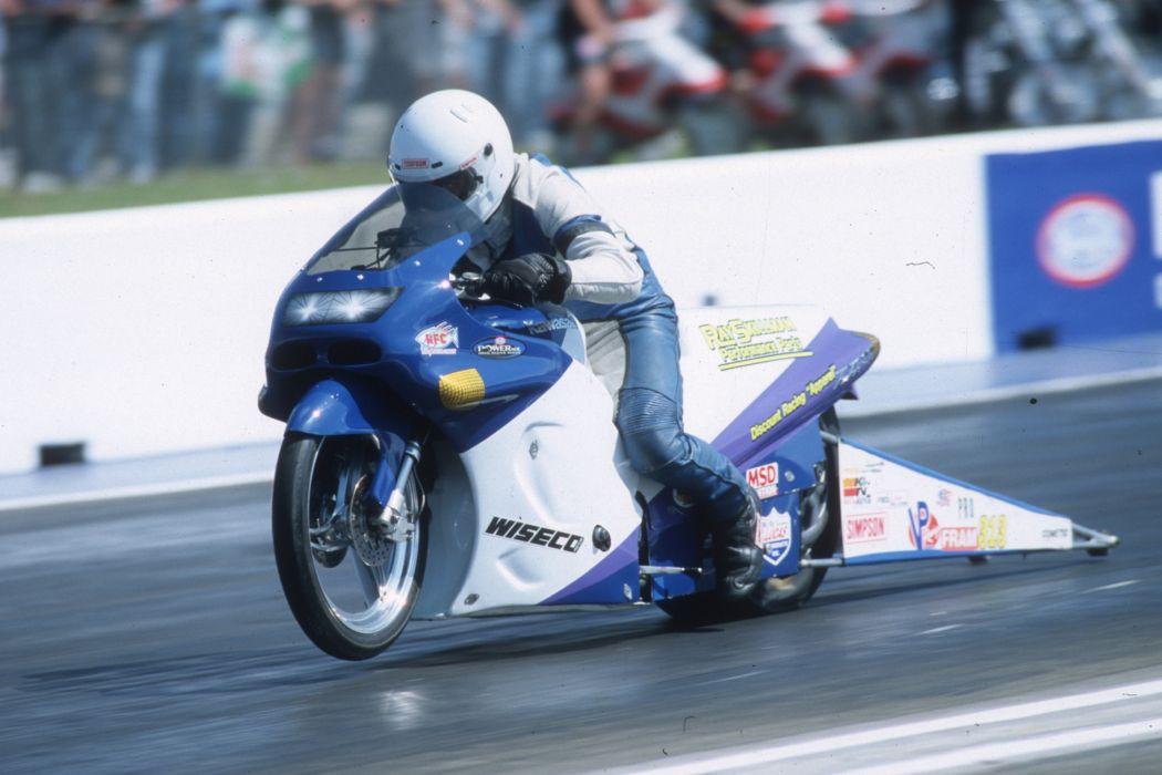 Wesley Wells 2004 NHRA Pro Stock Bike pro-stock-bike motorcycle motorbike drag race racing wallpaper