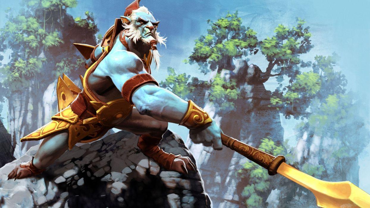 DOTA 2 Warriors phantom lancer Games Fantasy warrior wallpaper