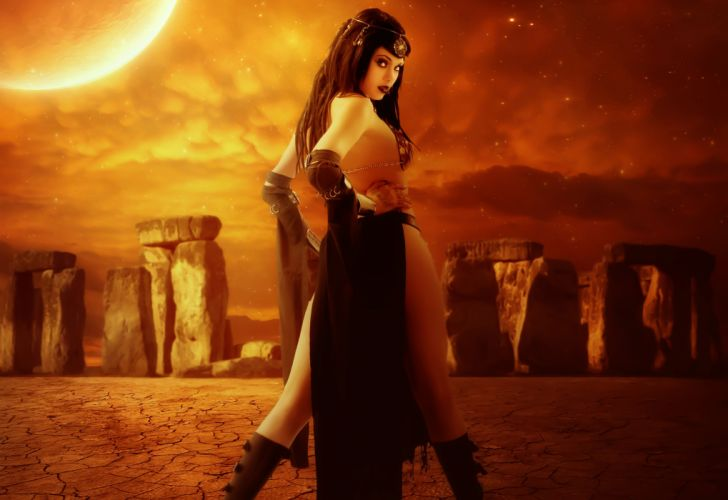Gothic Fantasy Girls girl wallpaper