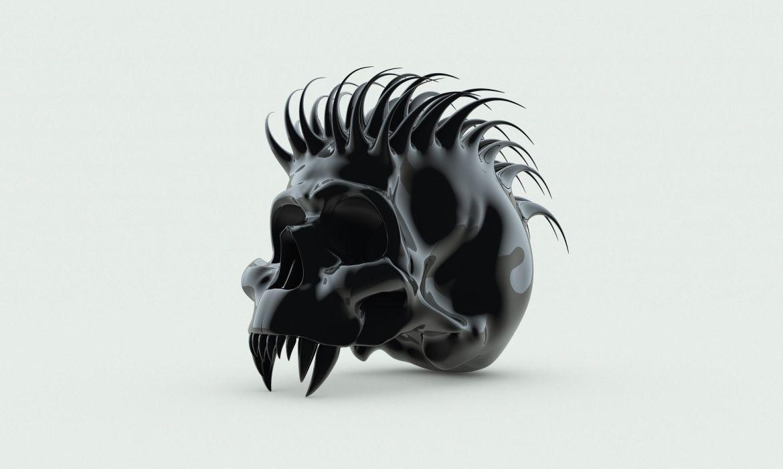 monster monsters skull skulls dark wallpaper