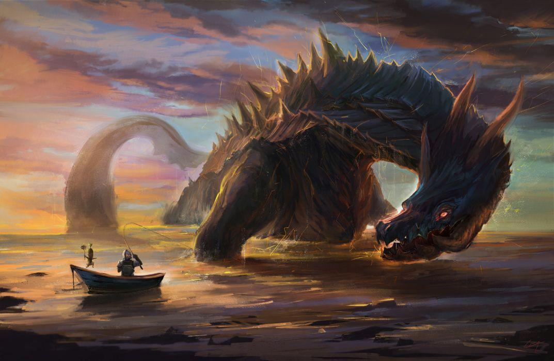 Monsters Fantasy monster wallpaper