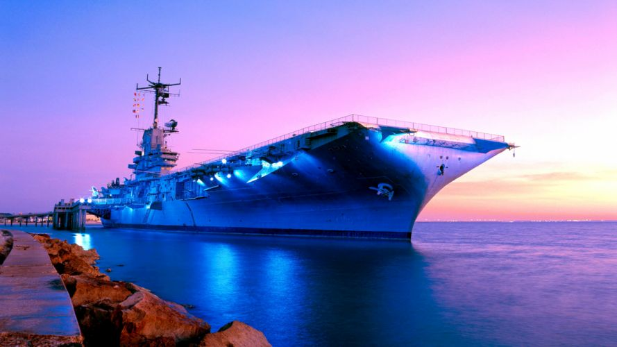Aircraft Carrier ship boat military wallpaper