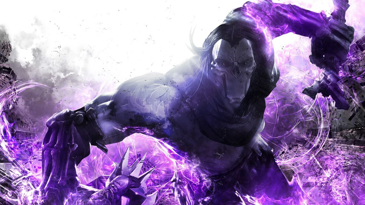 Darksiders Purple Abstract wallpaper