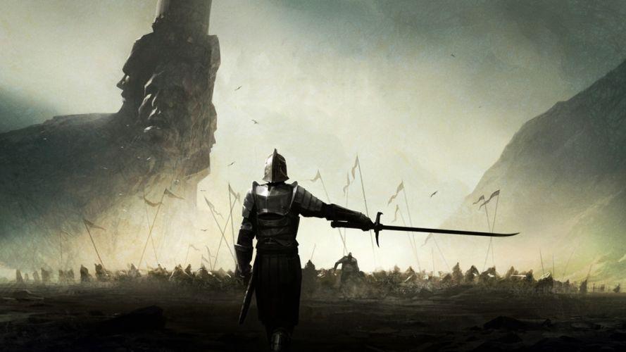 Medieval Mortal Online Sword Knight wallpaper