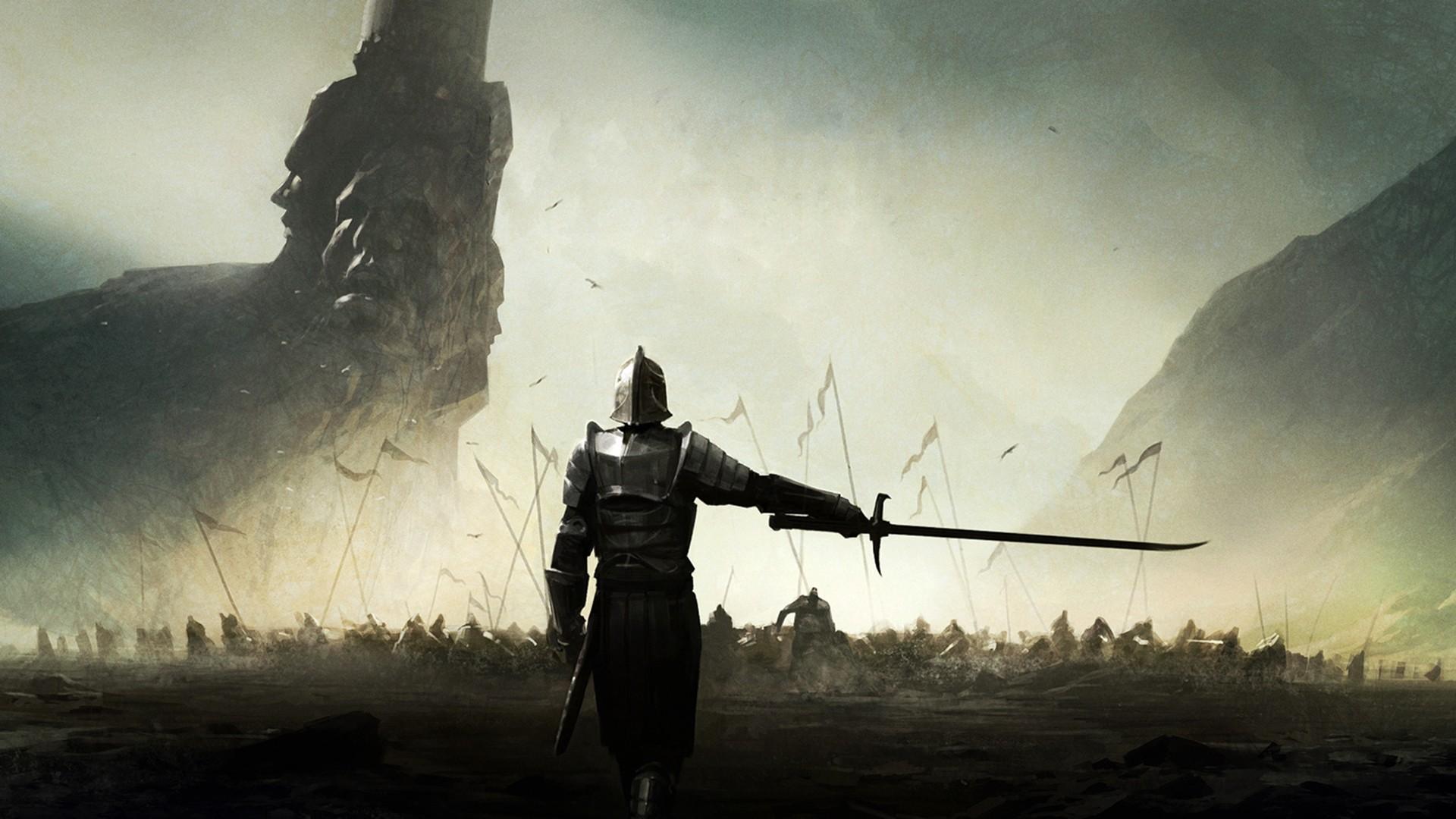 Medieval Mortal Online Sword Knight wallpaper backgroundMedieval Archery Wallpaper