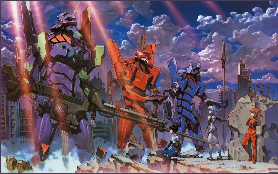 Neon Genesis Evangelion Anime Plugsuit mecha wallpaper
