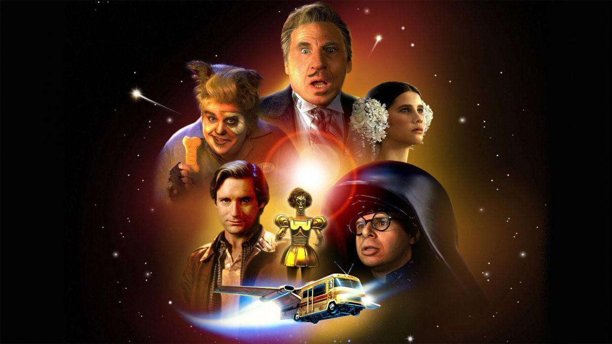 Spaceballs sci-fi wallpaper
