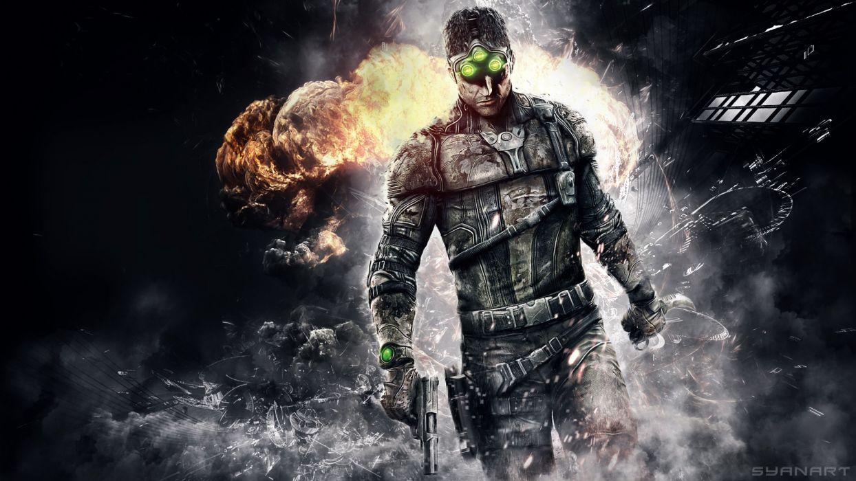 Splinter Cell Explosion wallpaper