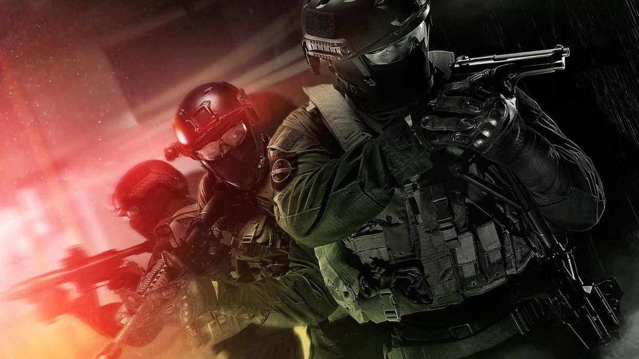 Takedown Soldiers Handgun Breach wallpaper